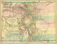 Vintage Map of Colorado (1872)