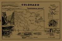 Vintage Map of Colorado (1912) - Tan