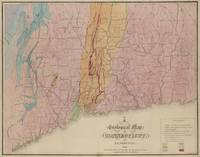 Vintage Geological Map of Connecticut (1842)