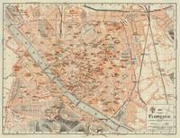 Vintage Map of Florence Italy (1895)