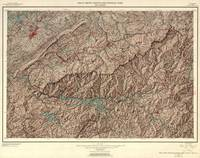 Vintage Great Smoky Mountains National Park Map (1