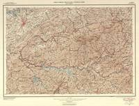 Vintage Smoky Mountains National Park Map (1949)