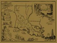 Vintage Agricultural Map of Louisiana (1912) - Tan