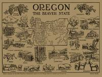 Vintage Map of Oregon (1912)