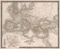 Vintage Map of The Roman Empire (1836)