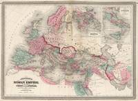 Vintage Map of The Roman Empire (1870)