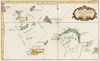 Vintage Turks and Caicos Map (1764)