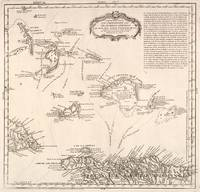 Vintage Map of The Turks and Caicos (1782)