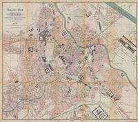 Vintage Map of Vienna Austria (1872)