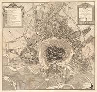 Vintage Map of Vienna Austria (1783)