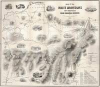 Vintage Map of The White Mountains (1864)