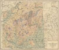Vintage Map of The White Mountains (1881)