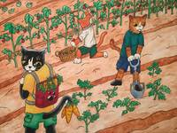 Summer Harvest Cats