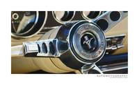 Ford Mustang Horn Button