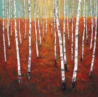 Young Birch Forest