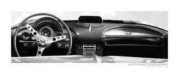 1962  Chevrolet Corvette Dash BW