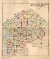 Map of Jefferson County, New York (1915)