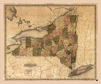 Map of New York (1823)