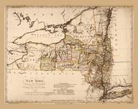 Map of New York by Sotzmann & Sander (1799)