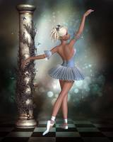Grace in a Blue Tutu