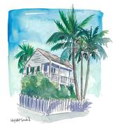 Key West Florida Conch Dream House - Palms and Bal