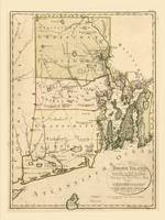 Map of Rhode Island by Carl Bohn (1797)