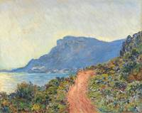 La Corniche near Monaco by Claude Monet