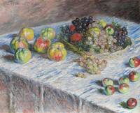 Apples and Grapes by Monet