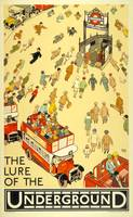 The Lure of the Underground Vintage Poster