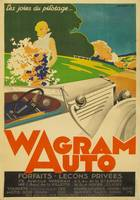 Wagram Auto Vintage Poster