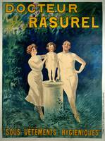 Docteur Rasurel Vintage Poster BY LEONETTO CAPPIEL