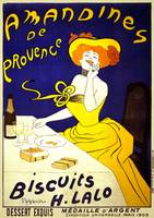 Amandines De Provence by Cappiello Vintage Poster