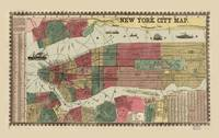 Miller's Map of the City of New York (1862)