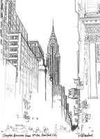 42nd Street New York City Chrysler Building