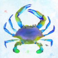 crabby watercolor