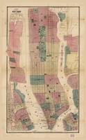 Map of New York and Vicinity (1867)
