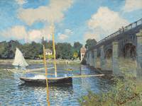 The Bridge at Argenteuil by Monet