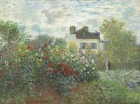 The Artist's Garden in Argenteuil by Monet