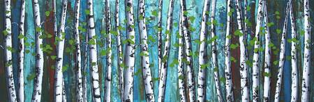 Blue Forest Birches hr