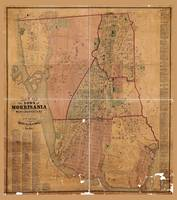Map of the town of Morrisania, Westchester County,