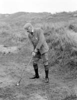 1901 Golfing at Tramore, Ireland