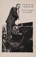 1910 Brush Automobile Postcards Ty Cobb