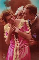 1920s Colorized Romantic Postcards 5