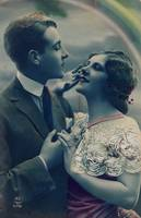 1920s Colorized Romantic Postcards 6