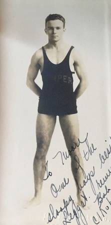 1925-1929   Wrestling photograph Kemper Military