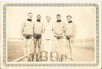 1940-50's Track & Field Team Snapshot   - Interest