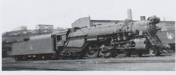 1950 Central Railroad CRR of NJ Engine