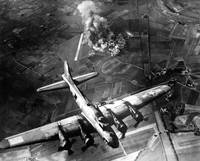 A raid by the 8th Air Force on the Focke Wulf fact