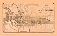 Map of the Village of Syracuse and Lodi, New York