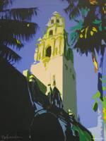 Balboa Park Tower Beacon By RD Riccoboni
